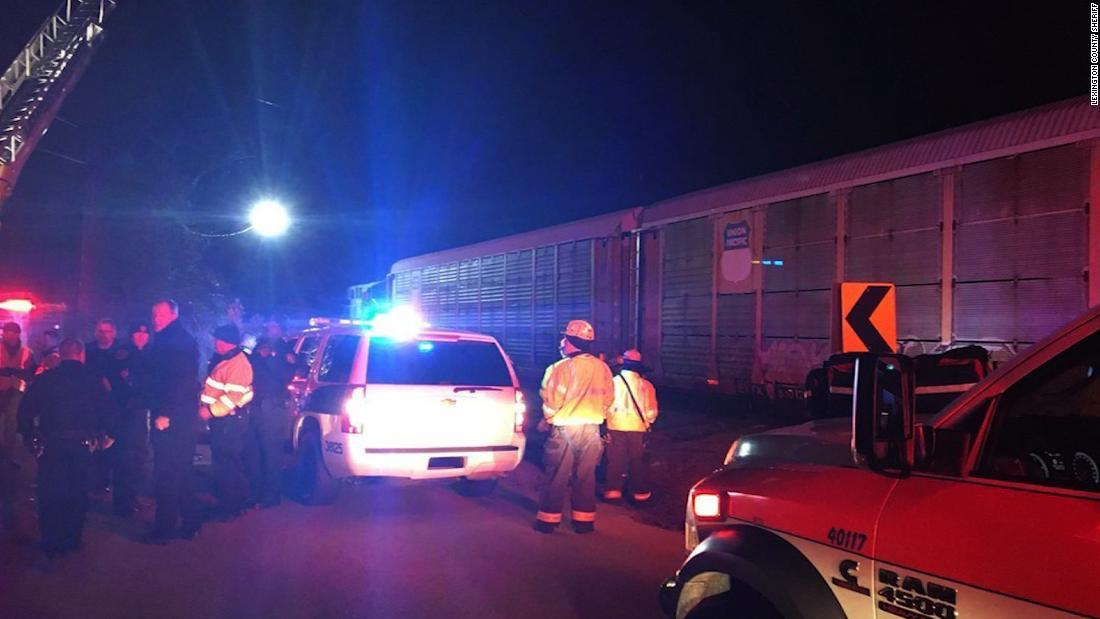 Amtrak train crash: 2 killed in South Carolina - CNN