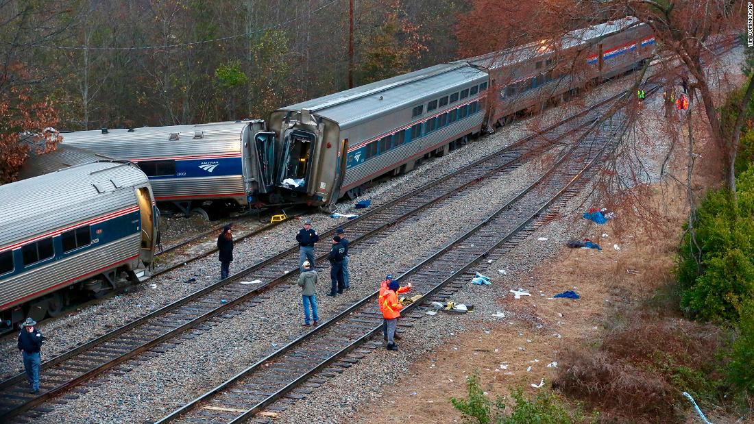amtrak trains involved in four fatal crashes in two months cnn
