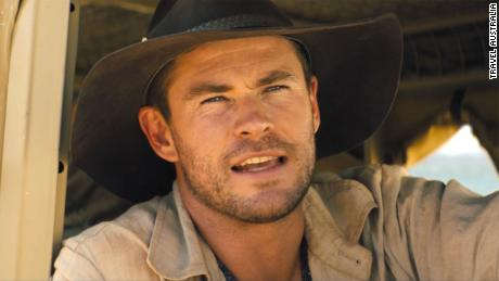 Chris Hemsworth promotes Australia with his Crocodile Dundee Super Bowl ad