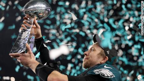 Eagles win first Super Bowl as Nick Foles has game of his life