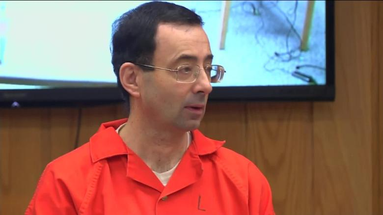 larry nassar speaks in court sentencing hearing sot _00001007