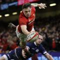 steff evans rugby six nations