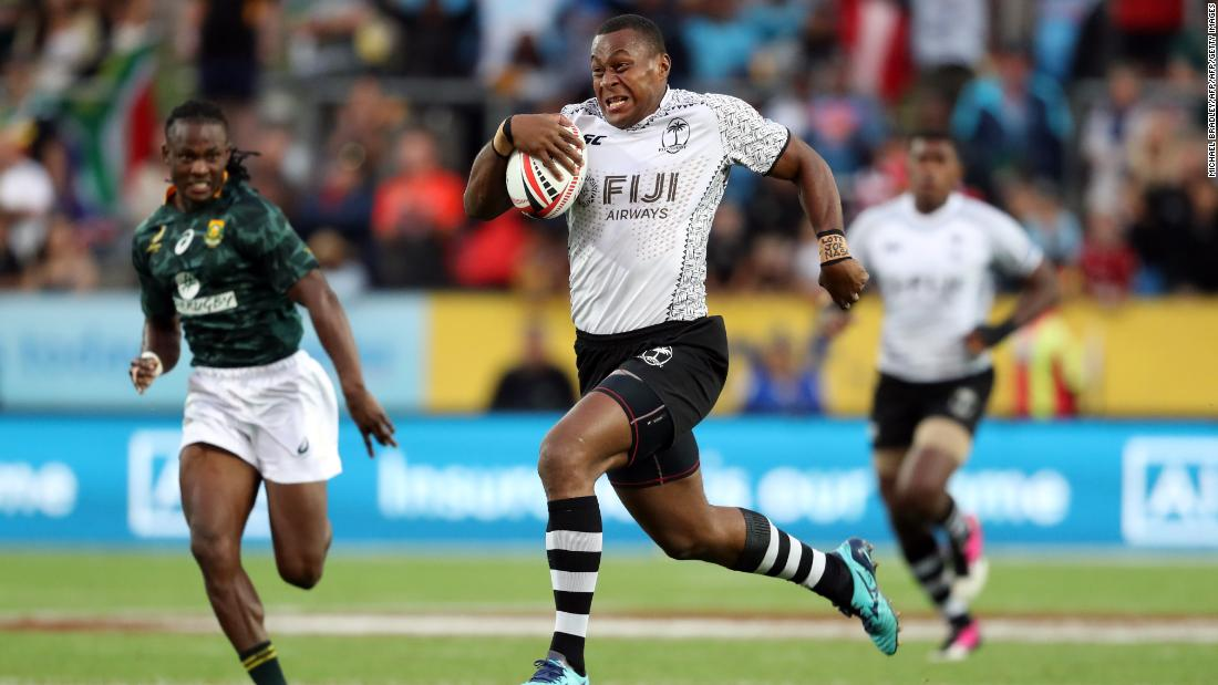 "Fiji overturned a first-half deficit against South Africa to <a href=""https://edition.cnn.com/2018/02/05/sport/hamilton-rugby-sevens-fiji-south-africa/index.html"">claim a first title of the season</a> in Hamilton -- the first time the town has hosted a Sevens World Series tournament after the New Zealand leg was moved from Wellington."
