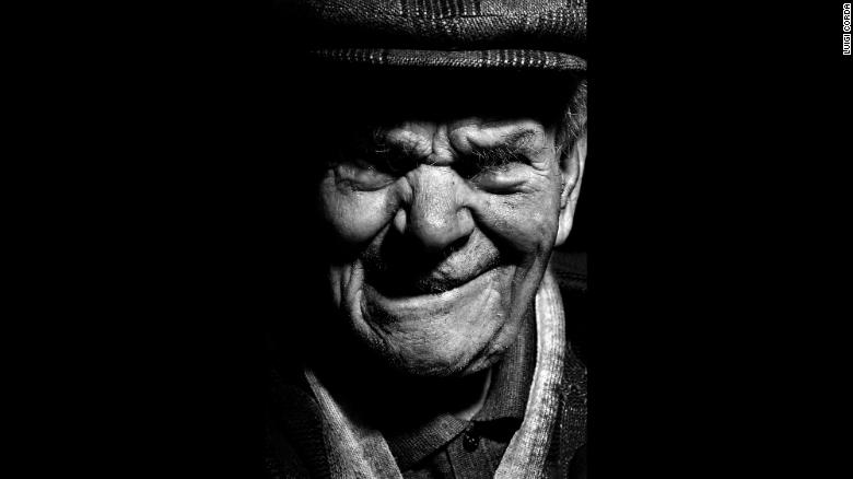 Salvatore Meloni, born in 1908, is a farmer and a shepherd and goat herder.