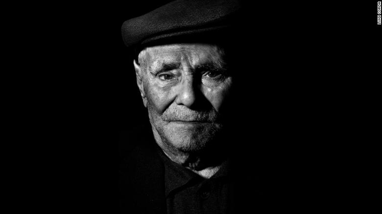 Giovanni Lai, born in 1906, is a shoemaker and farmer who loves lasagna and has a glass of wine at every meal.