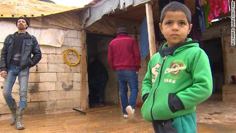 Over 70% of Lebanon's 1 million Syrian refugees live in poverty