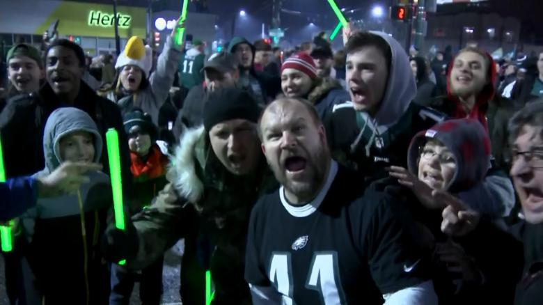 Eagles fans storm Philly for Super Bowl win