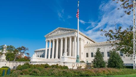 WASHINGTON D.C., DC - OCTOBER 31: General view of the Supreme Court of the United States on October 31, 2016 in Washington D.C., Washington D.C..  (Photo by AaronP/Bauer-Griffin/GC Images)