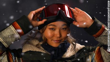 PARK CITY, UT - SEPTEMBER 25:  Snowboarder Chloe Kim poses for a portrait during the Team USA Media Summit ahead of the PyeongChang 2018 Olympic Winter Games on September 25, 2017 in Park City, Utah.  (Photo by Ezra Shaw/Getty Images)