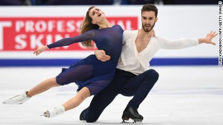 Papadakis and Cizeron are co-favorites for Olympic gold, along with Virtue and Moir.
