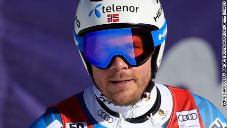 Jansrud says he visualises the course more than 100 times in the week leading up to a race.