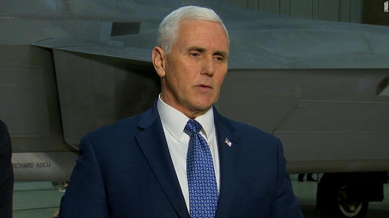 Pence keeps door open for NK discussions