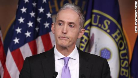 WASHINGTON, DC - JUNE 28:  House Benghazi Committee Chairman, Trey Gowdy (R-SC), participates in a news conference with fellow Committee Republicans after the release of the Committee's Benghazi report on Capitol Hill June 28, 2016 in Washington, DC. U.S. Ambassador Chris Stevens and three others were killed during an attack on a U.S. outpost and CIA annex in Libya on September 11, 2012.  (Photo by Mark Wilson/Getty Images)