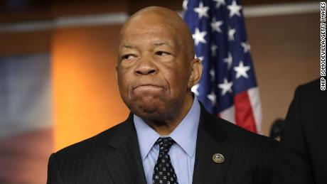 WASHINGTON, DC - MAY 17:  House Oversight and Government Reform Committee ranking member Rep. Elijah Cummings (D-MD) speaks during a news conference at the U.S. Capitol May 17, 2017 in Washington, DC. House Democrats have introduced legislation to create an outside, independent commission to investigate possible connections between President Donald Trump and Russian officials. If Speaker Paul Ryan (R-WI) does not support the legislation then Democrats said they will file a discharge petition to force a vote on the measure.  (Photo by Chip Somodevilla/Getty Images)