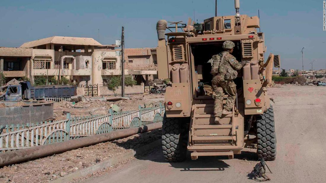 US military mistakenly circulates letter suggesting withdrawal of American troops from Iraq
