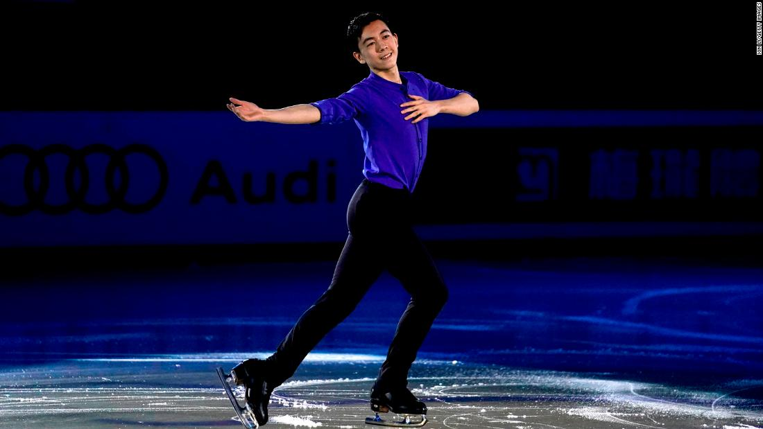Vincent Zhou, 17, is making his Olympic debut as the youngest member of the US figure skating team. The teenager from Palo Alto, California, placed third in the 2018 US Championship after enthralling the hometown crowd this year by attempting five quads.