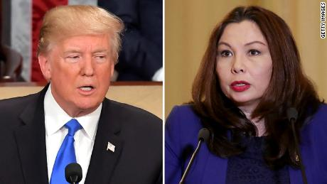 tammy duckworth trump split