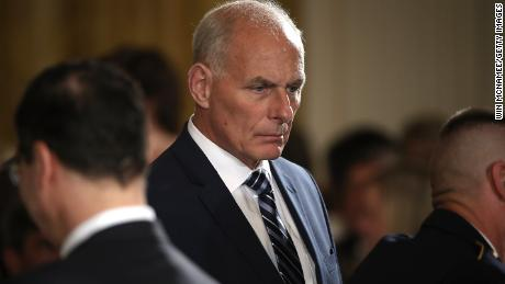 White House says Trump 'has confidence' in John Kelly