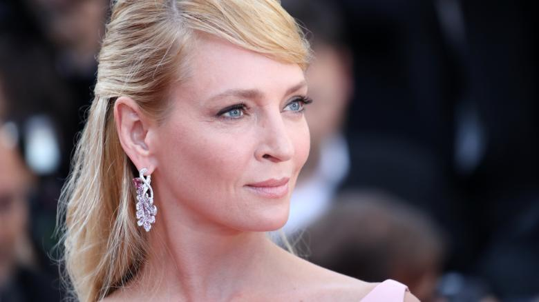 Uma Thurman posts car crash video