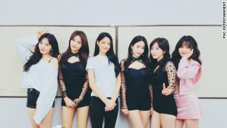 AOA, South Korean pop group Ace of Angels