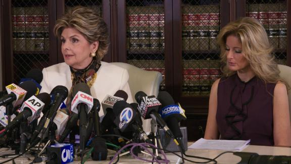 Gloria Allred, with Summer Zervos