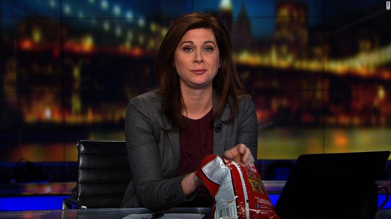 Erin Burnett responds to 'lady Doritos'