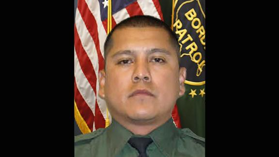 "US Border Patrol agent Rogelio ""Roger"" Martinez"
