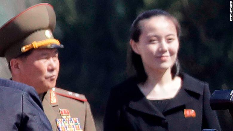 Kim Jong Un's sister going to the Olympics