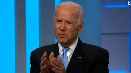 Biden says Trump is a 'joke' for calling Democrats 'treasonous'