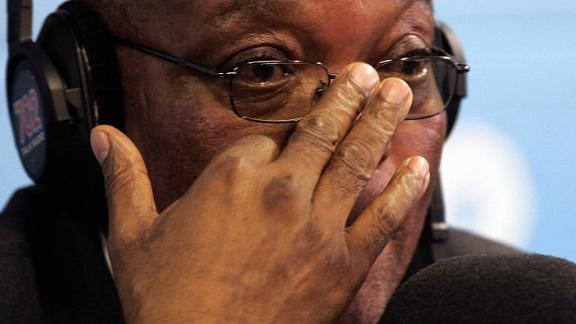 Zuma gives an interview the day after his acquittal. He apologized to the nation and launched a bid for the presidency.