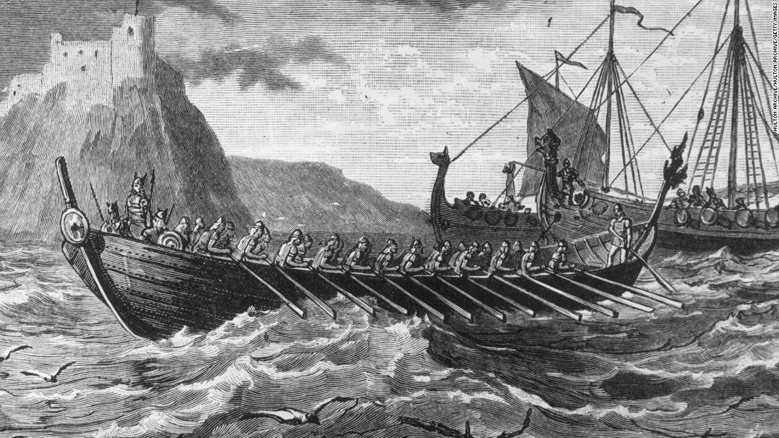 The Vikings were Scandinavian seafaring warriors. They colonized wide areas of Europe from the 9th-11th Century AD. Their empire reached as far as Greenland.