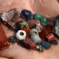 Vikings Ribe handful of beads