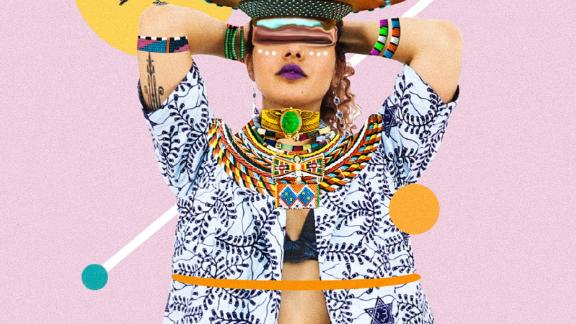 The style combines science fiction, magical realism and African influences.