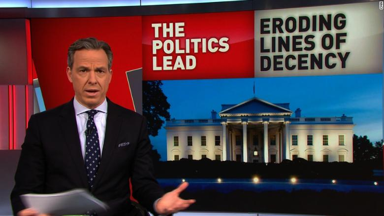 Tapper: WH is degrading US values
