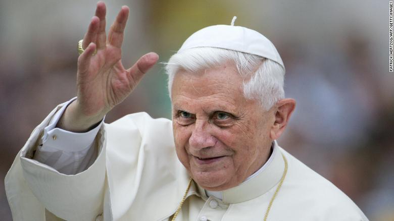 pope benedict 2018