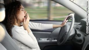Drowsy driving is a factor in almost 10% of crashes, study finds
