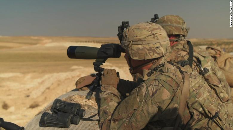 US Special Forces fighting ISIS in Syria