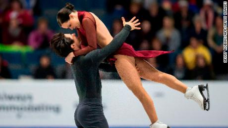 Virtue and Moir won Olympic gold in 2010 and two Olympic silvers in 2014.