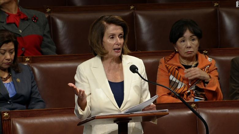 Pelosi sets record for longest House speech in history