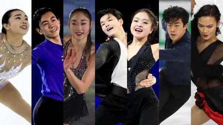 A record number of Asian Americans are appearing at this year's Olympics.