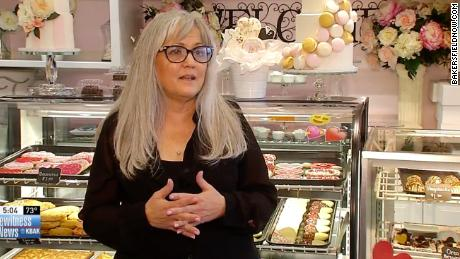 Tastries Bakery owner Cathy Miller did not want to make a cake for a same-sex couple's wedding.