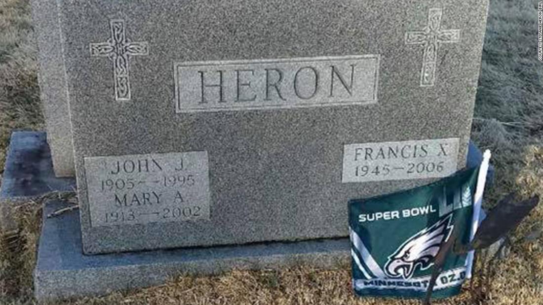 After Super Bowl Victory Eagles Gear Adorn Loved Ones