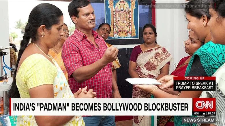 bollywood film pad man aims to shatter taboos about