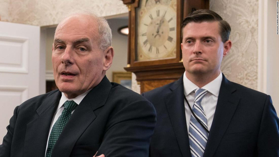Kelly issues memo changing security clearance process in wake of Porter scandal