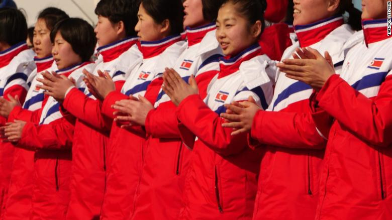 Image result for What North Korea's Olympic delegation saw for the first time