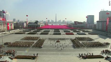 North Korea releases video of military parade