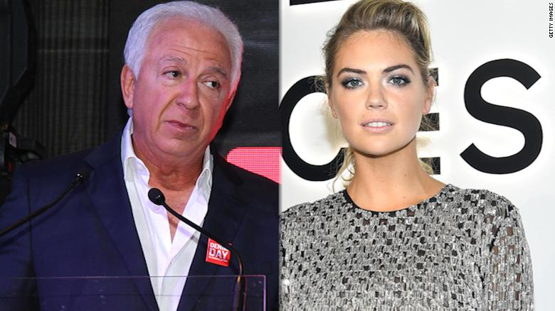 Kate Upton says Guess co-founder groped her