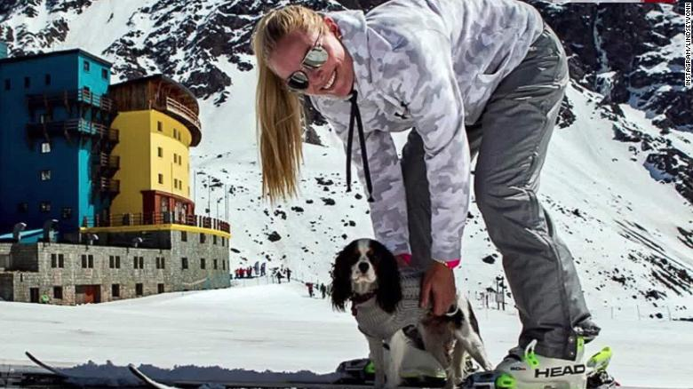 lindsey vonn rescue dogs skiing pyeongchang 2018 winter olympics intl orig_00004701