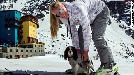 Lindsey Vonn's furry friends