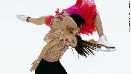 "The ""Shib Sibs"" perform their Latin-themed short dance at the US Championships."